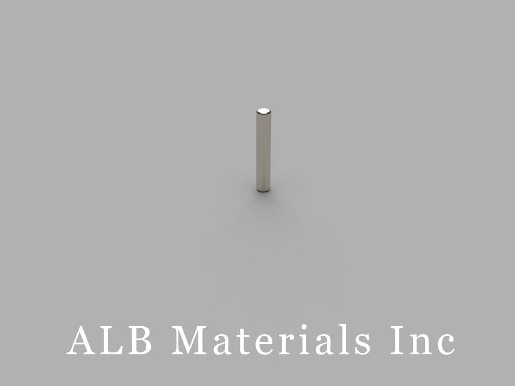 DH16 Neodymium Magnets, 1/10 inch dia. x 3/8 inch thick