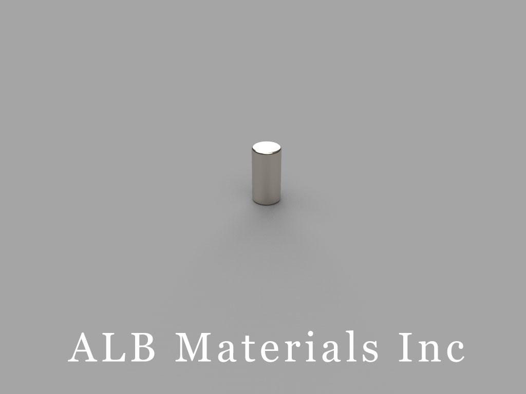 DH24 Neodymium Magnets, 2/10 inch dia. x 1/4 inch thick