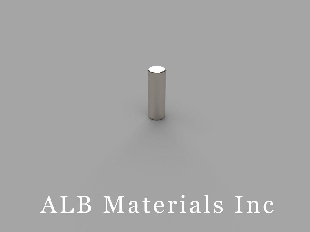 DH26 Neodymium Magnets, 2/10 inch dia. x 3/8 inch thick