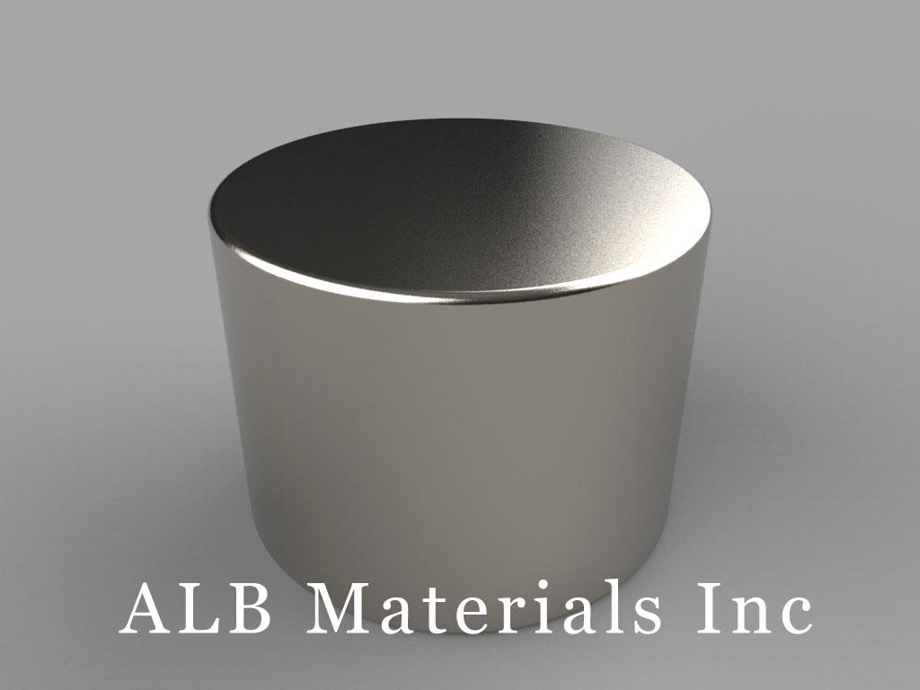 DX0C Neodymium Magnets, 1 inch dia. x 3/4 inch thick