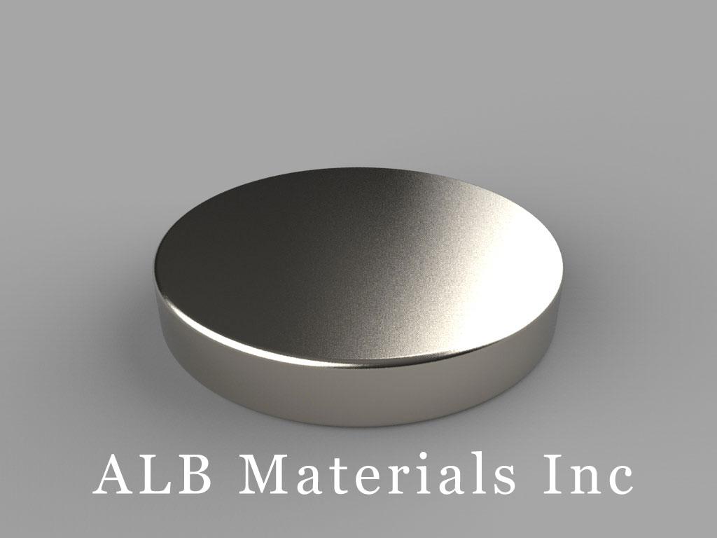 DX23 Neodymium Magnets, 1 1/8 inch dia. x 3/16 inch thick