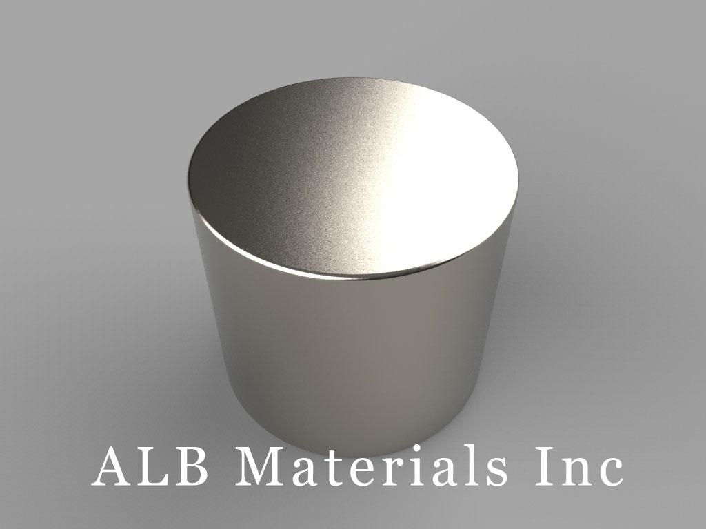 DX4X2 Neodymium Magnets, 1 1/4 inch dia. x 1 1/8 inch thick