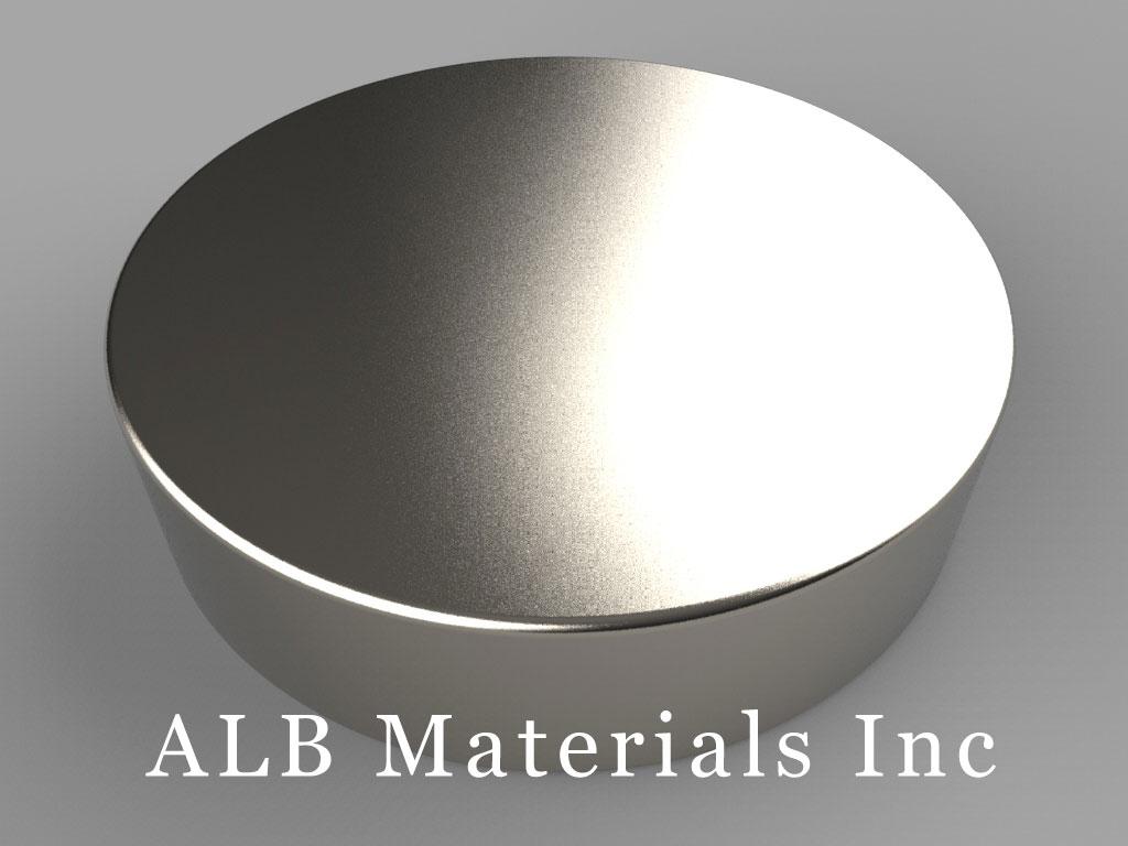 DX86 Neodymium Magnets, 1 1/2 inch dia. x 3/8 inch thick