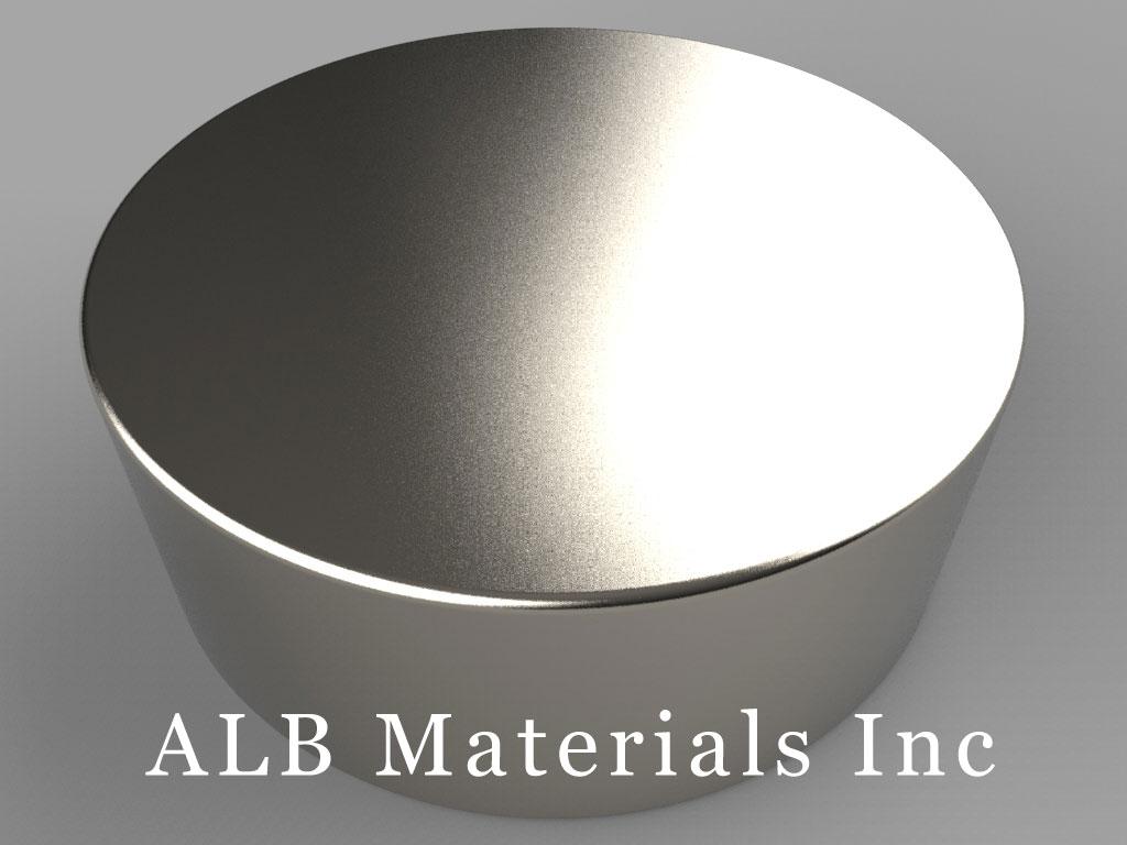 DX89 Neodymium Magnets, 1 1/2 inch dia. x 9/16 inch thick
