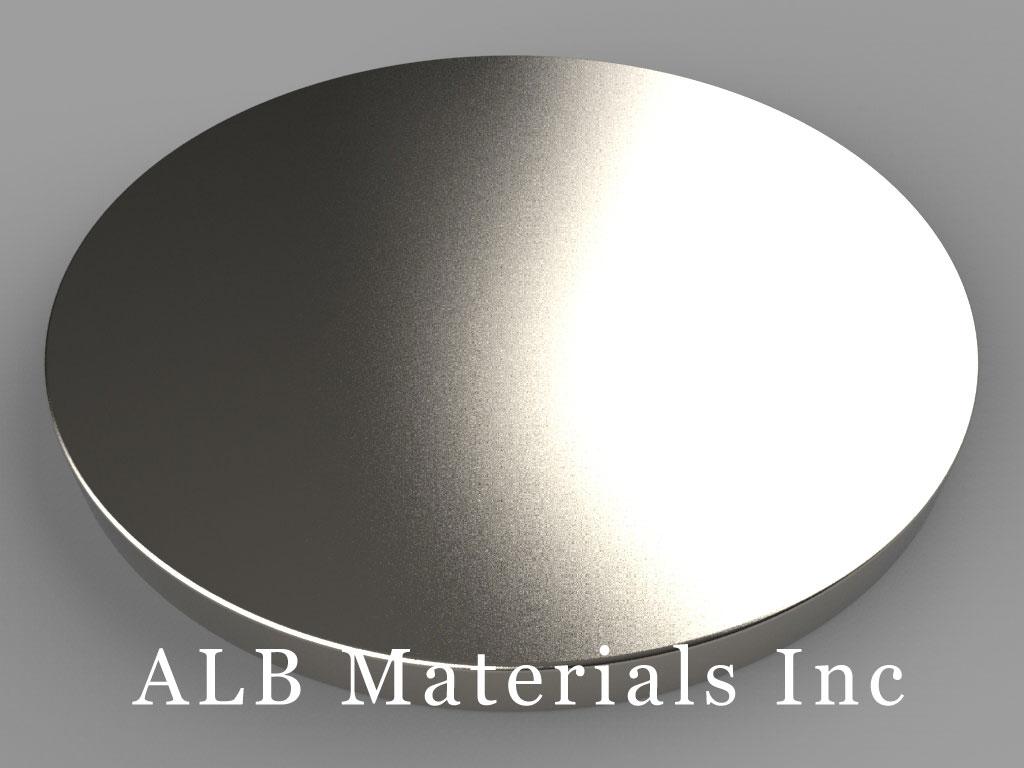 DXC2 Neodymium Magnets, 1 3/4 inch dia. x 1/8 inch thick