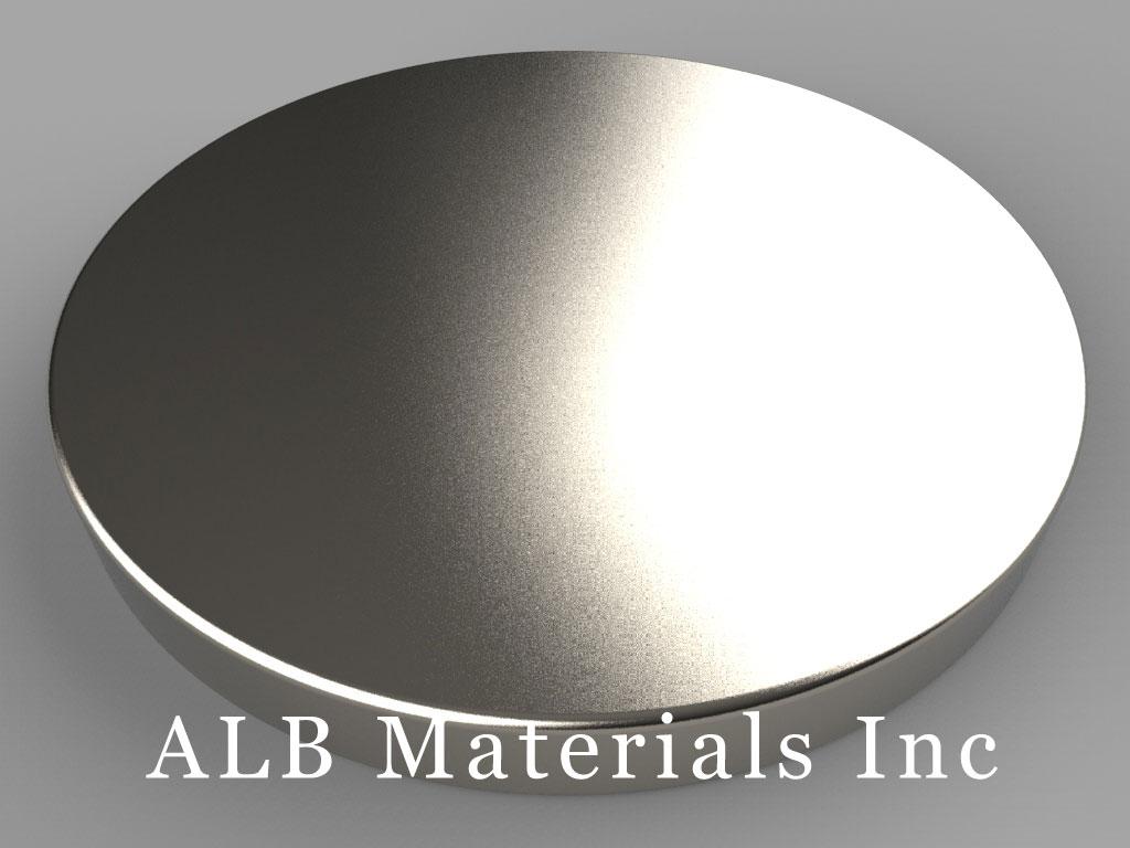 DXC3 Neodymium Magnets, 1 3/4 inch dia. x 3/16 inch thick