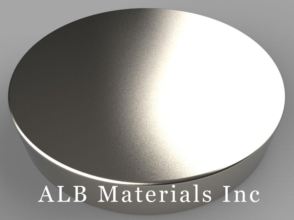 DXC5 Neodymium Magnets, 1 3/4 inch dia. x 5/16 inch thick