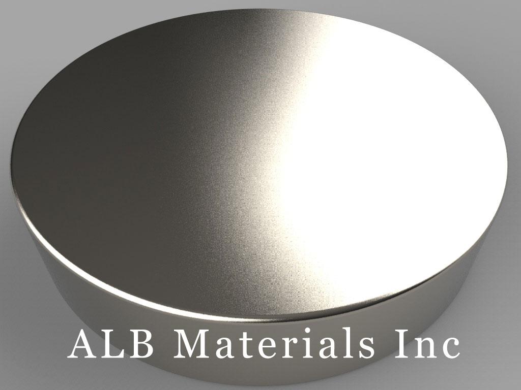 DXC6 Neodymium Magnets, 1 3/4 inch dia. x 3/8 inch thick