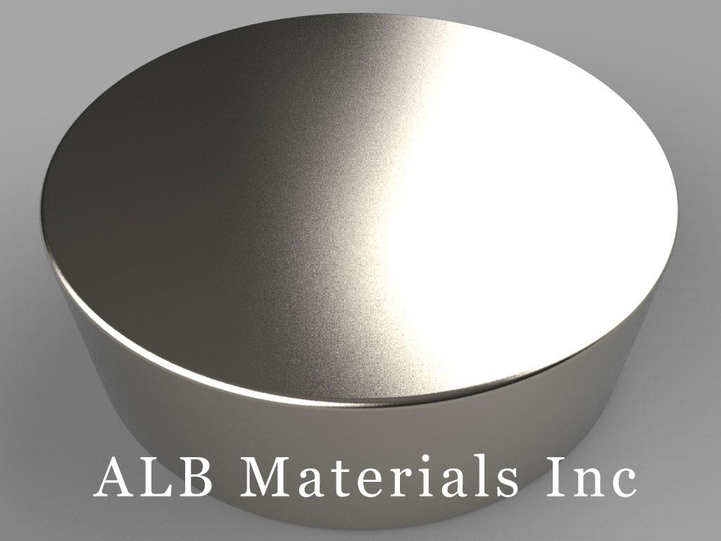 DXC9 Neodymium Magnets, 1 3/4 inch dia. x 9/16 inch thick