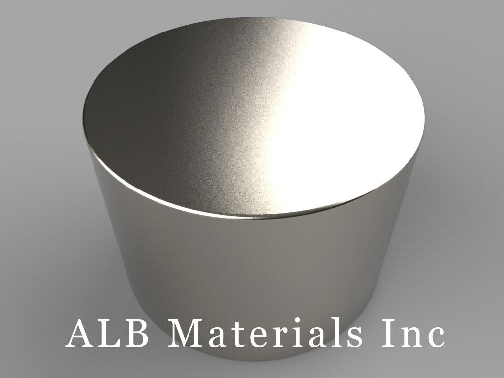 DXCX4 Neodymium Magnets, 1 3/4 inch dia. x 1 1/4 inch thick