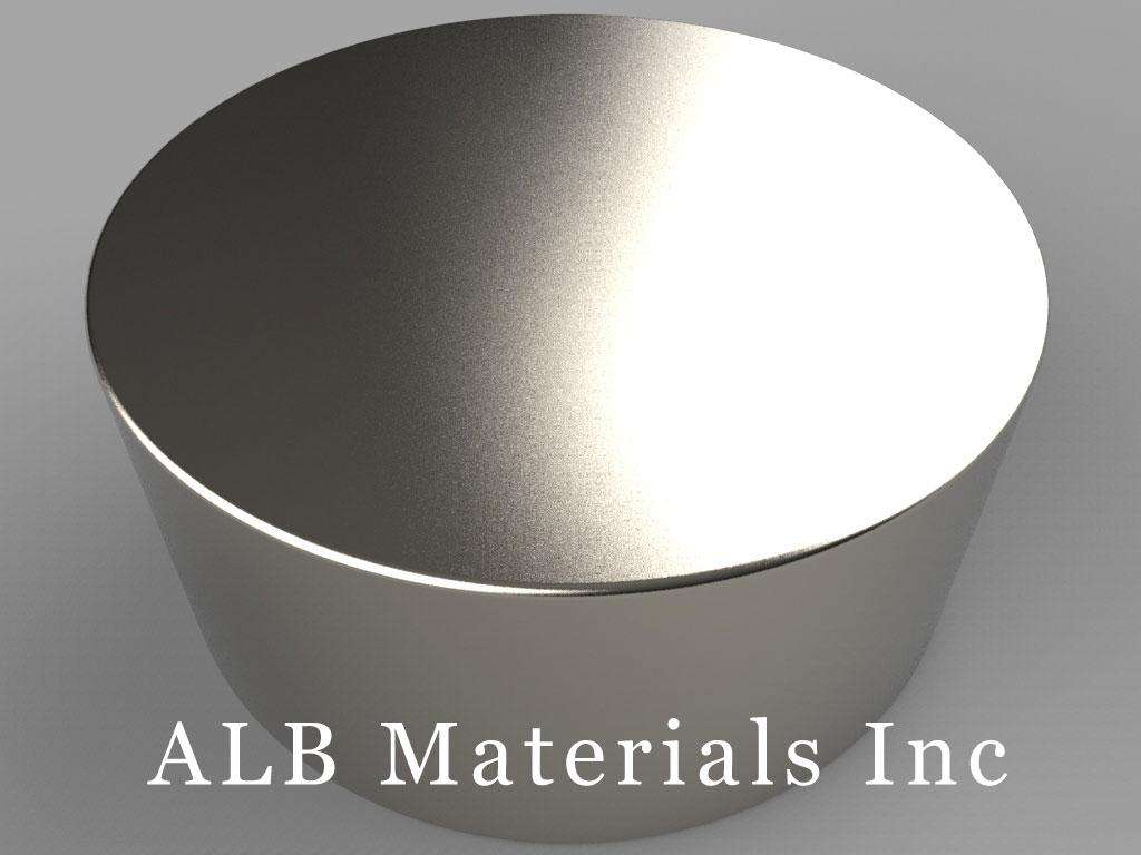 DY0E Neodymium Magnets, 2 inch dia. x 7/8 inch thick