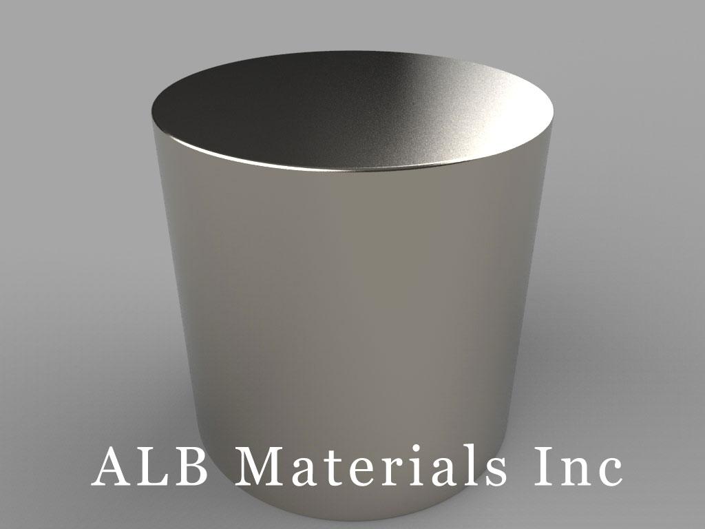 DY8Y8 Neodymium Magnets, 2 1/2 inch dia. x 2 1/2 inch thick