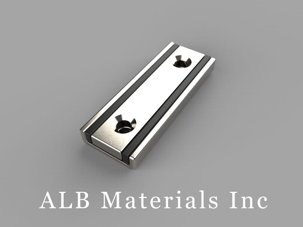 MMR-A-ZC Rectangular Mounting Magnets