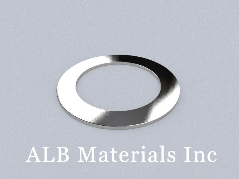 R-OD100H3ID70-N35 Neodymium Magnet, OD100xID70x3mm Ring Magnet