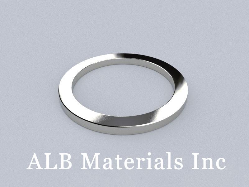 R-OD100H7ID80-N35 Neodymium Magnet, OD100xID80x7mm Ring Magnet