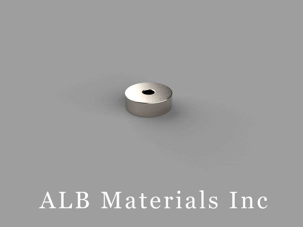 OD12xID3x4mm-N35 Neodymium Magnets