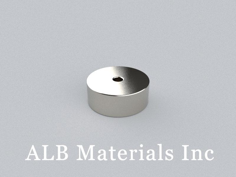 R-OD13H5ID2-N35 Neodymium Magnet, OD13xID2x5mm Ring Magnet