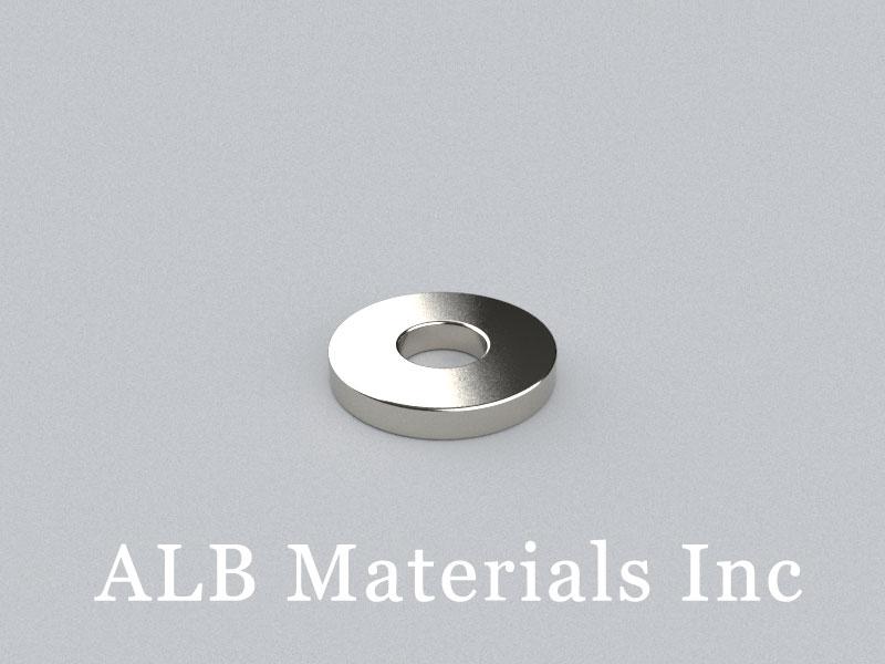 R-OD13H2ID5-N35 Neodymium Magnet, OD13xID5x2mm Ring Magnet