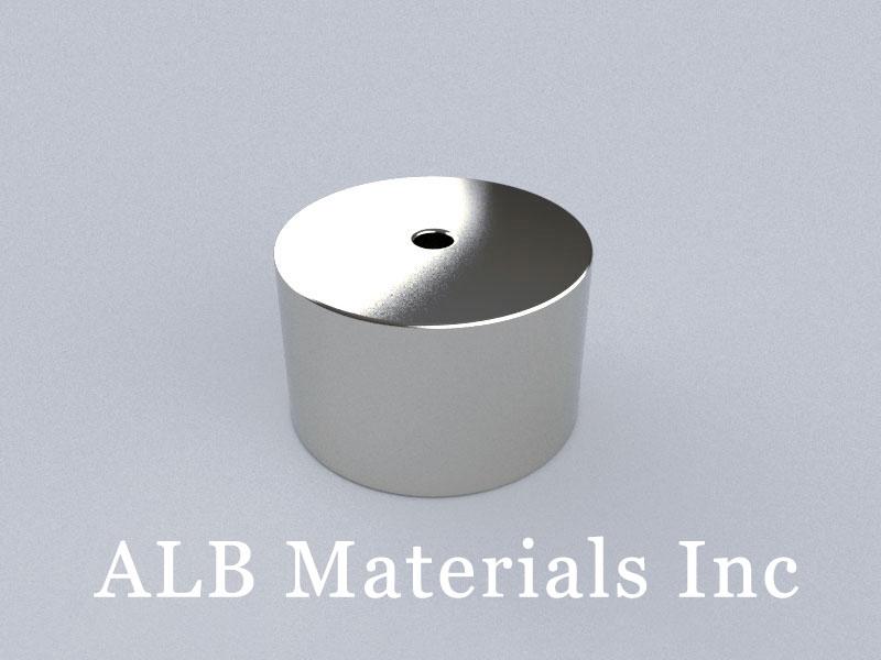 R-OD40H25ID5-N45 Neodymium Magnet, OD40xID5x25mm Ring Magnet