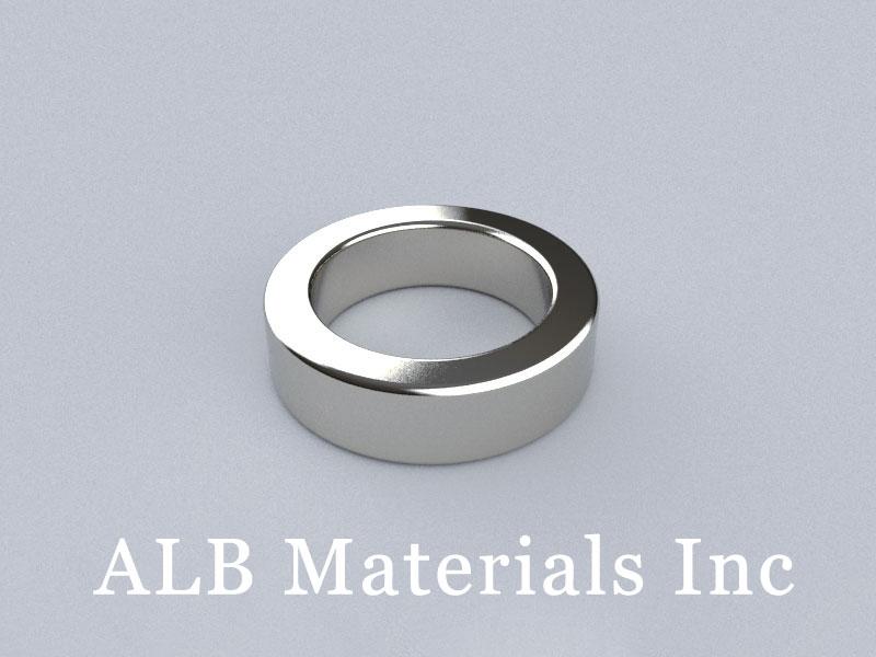 R-OD45H12ID32-N35 Neodymium Magnet, OD45xID32x12mm Ring Magnet