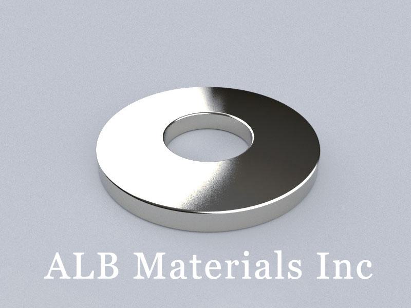 R-OD50H5ID20-N35 Neodymium Magnet, OD50xID20x5mm Ring Magnet
