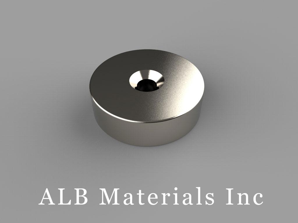 ALB-RN0717 Neodymium Countersunk Magnet