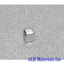 ALB-BN0386 Neodymium Block Magnet
