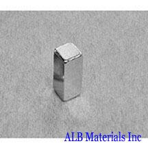ALB-BN0401 Neodymium Block Magnet