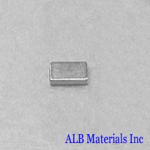 ALB-BN0408 Neodymium Block Magnet