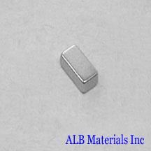 ALB-BN0409 Neodymium Block Magnet