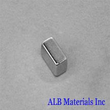 ALB-BN0410 Neodymium Block Magnet