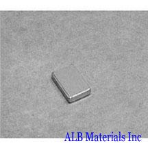 ALB-BN0411 Neodymium Block Magnet