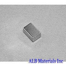 ALB-BN0412 Neodymium Block Magnet