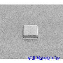 ALB-BN0414 Neodymium Block Magnet
