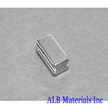 ALB-BN0433 Neodymium Block Magnet