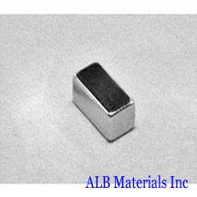 ALB-BN0435 Neodymium Block Magnet