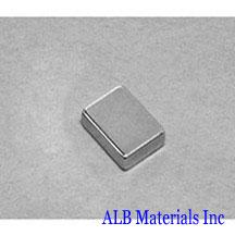 ALB-BN0440 Neodymium Block Magnet