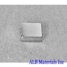 ALB-BN0444 Neodymium Block Magnet
