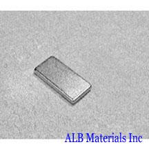 ALB-BN0468 Neodymium Block Magnet