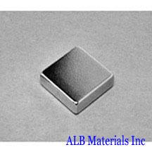 ALB-BN0484 Neodymium Block Magnet