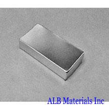 ALB-BN0557 Neodymium Block Magnet