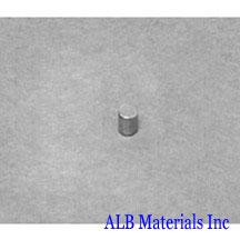 ALB-CN0261 Neodymium Cylinder Magnet