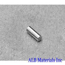 ALB-CN0275 Neodymium Cylinder Magnet