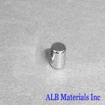 ALB-CN0285 Neodymium Cylinder Magnet