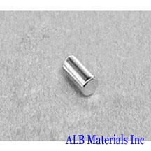 ALB-CN0289 Neodymium Cylinder Magnet