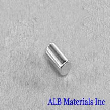 ALB-CN0290 Neodymium Cylinder Magnet