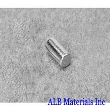 ALB-CN0291 Neodymium Cylinder Magnet