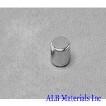 ALB-CN0301 Neodymium Cylinder Magnet