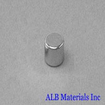 ALB-CN0302 Neodymium Cylinder Magnet