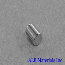 ALB-CN0305 Neodymium Cylinder Magnet